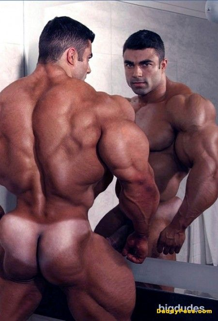 MASSIVE Muscle w/ bikini tan line 17653 - MyMuscleVideo