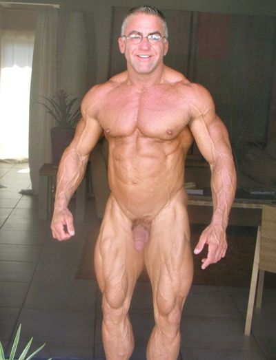 Grandpa gay cock muscle