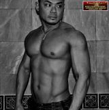 Asian musclehunk Lawrence 2