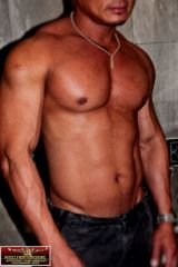 Asian musclehunk Lawrence 4