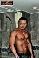 Asian musclehunk Lawrence 7