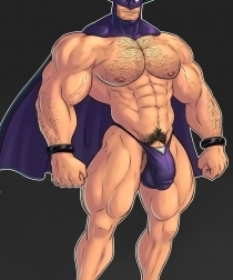 Superheroes Muscle Art 2
