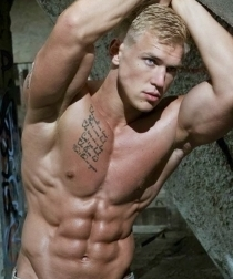 Young ad Cute Muscleguys