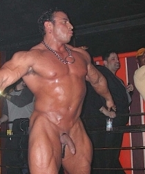 Hot Bodybuilder Stripper