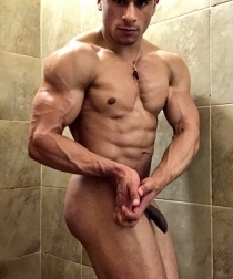 Nude Junior Bodybuilder