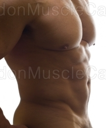 Big Muscles and Fat Cock