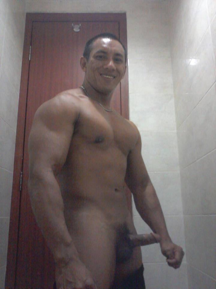 Nude men indonesian model are