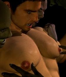 Chris Redfield porno gay