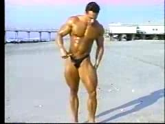 Handsome Bodybuilder posing