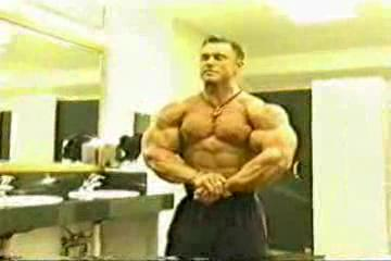 Lee Priest in Bathroom