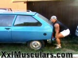 Lifting a car