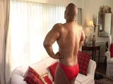 BIG BLACK MUSCLE COCK HOT