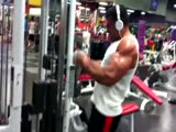 Karl train arms!see more muscle