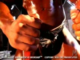 Worshiping Oiled Up Black Muscle