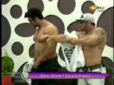 2 Hot Bodybuilders, 1 Horny Female TV Host