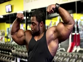 Brandon Curry Prep for 2014 Arnold Classic