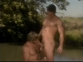 vintage muscle hunks outdoor sex (Eric Stone and Alan Reeves)