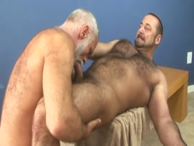 muscle bear dads horny sex - Allen Silver and Rocky LeBarre