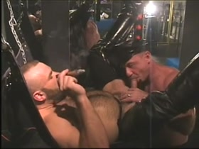 muscle bear leather dads horny sex - Gus Mattox (aka Tom Judson) and Wayne Rogers