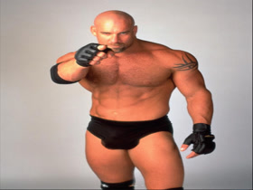 Bill Goldberg's big balls