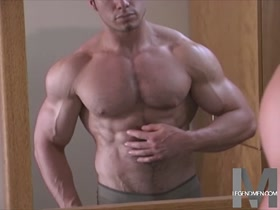 Max Wheeler: Hairy Muscle in the Mirror