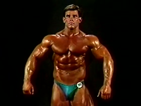 Jim Quinn Pumped Oiled and Posing