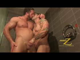 Christian & Emiliano: Shower Worship