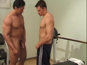 gym instructor hot student worship muscle sex