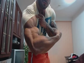 Big Roger Muscle Worship Fantasy Mymusclevideo