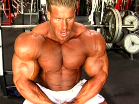 Jay Cutler at Golds 2001