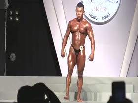 Hot Chinese Bodybuilder shows his Muscle Butt