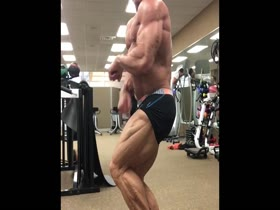 Mature Muscle in Gym