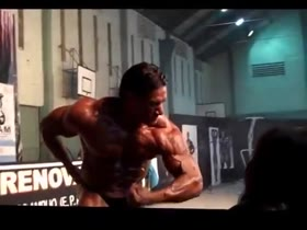 Hot Daniel Morocco Competing in Bodybuilding