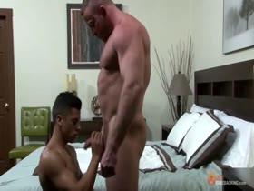 Shay Michaels fucks Armond Rizzo in his hotel room