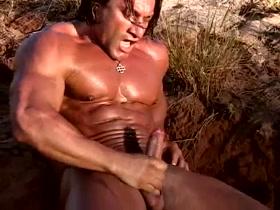 Morocco Bodybuilder naked daniel