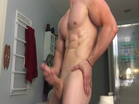 Brian pumper in hot white bbw - 2 part 4