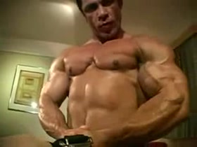 Hot, ripped and vascular man