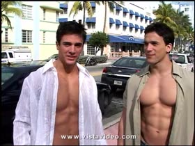 open shirt hunks