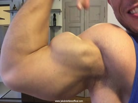 Jakub Stefano Official Site Compilation With Hard Muscle Flexing