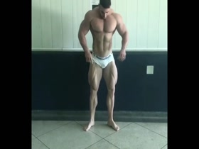 Huge Bodybuilder Rafael Brandao
