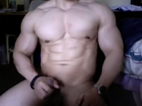 Huge Asian Bodybuilder