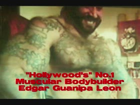 Edgar Guanipa In A Lemuel Perry Film..Hollywood Bodybuilder..1997..