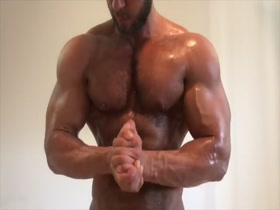 Muscle God FMG Naked and HOT!