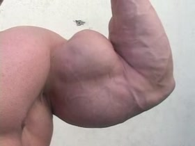 Big ass biceps