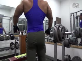 Asian  bodybuilder
