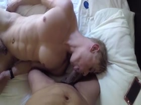 Blond Muscle Slut Get Fucked 1