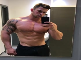 Craig Morton - Bathroom Posing 02