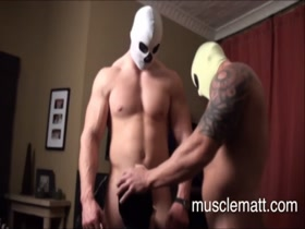 muscle men having sex