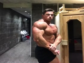 Craig Morton - Change room Posing