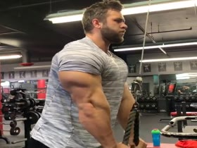 Regan Grimes Massive Arm Workout